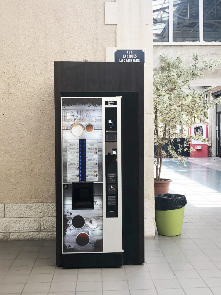 Machine à café l'Igloo Distribution Automatique