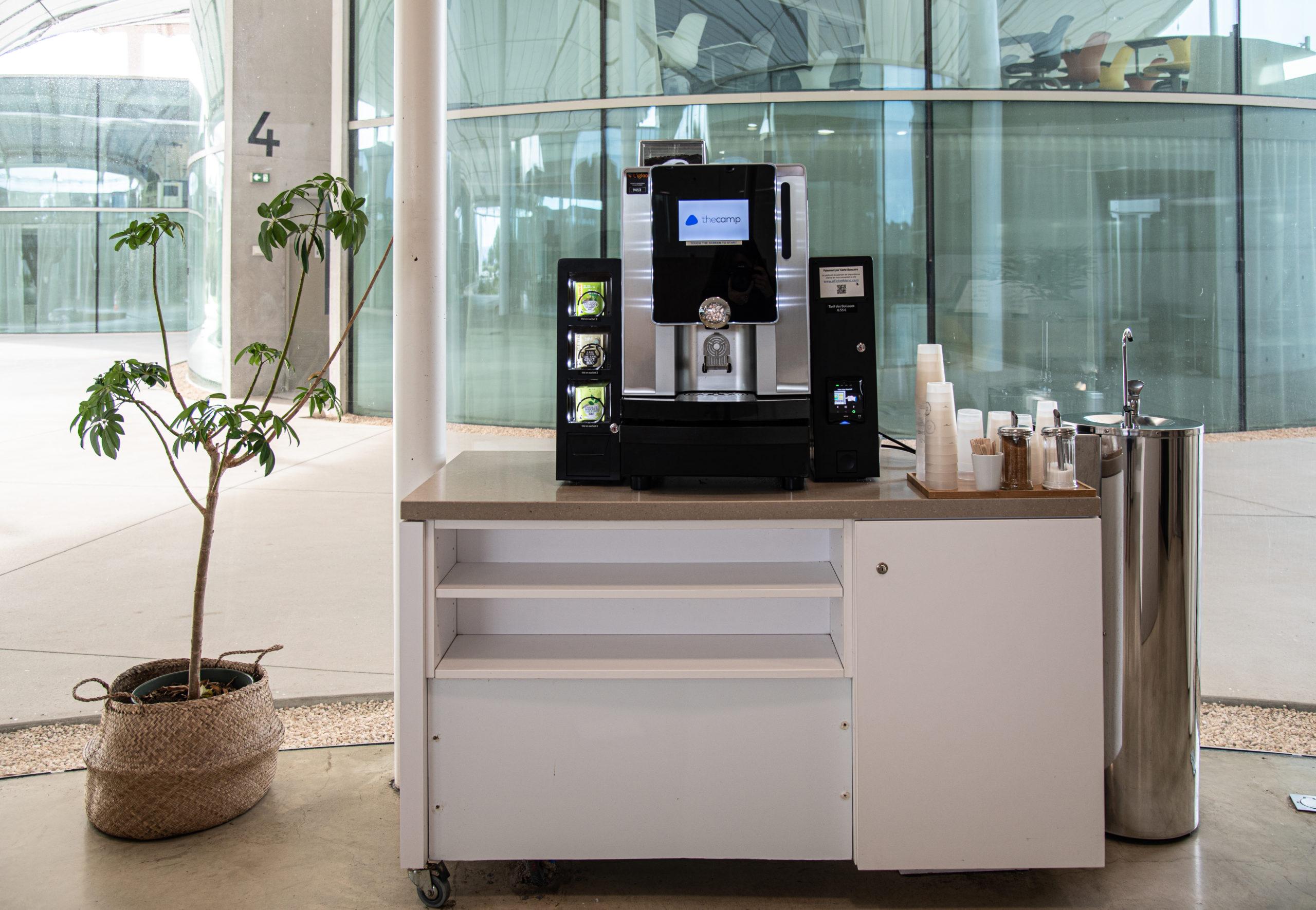 Machine boisson chaude bureau l'Igloo DA
